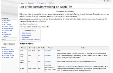 http://wiki.awkwardtv.org/wiki/List_of_file_formats_working_on_Apple_TV