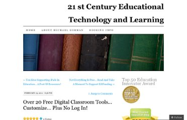 http://21centuryedtech.wordpress.com/2011/02/19/over-20-free-digital-classroom-tools-customize-plus-no-log-in/
