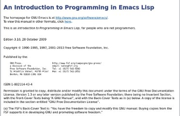 http://www.gnu.org/software/emacs/emacs-lisp-intro/html_node/index.html