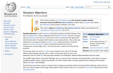 http://en.wikipedia.org/wiki/Stanton_Warriors