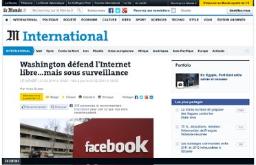 http://www.lemonde.fr/international/article/2011/02/21/washington-defend-l-internet-libre-mais-sous-surveillance_1483056_3210.html#xtor=RSS-3208