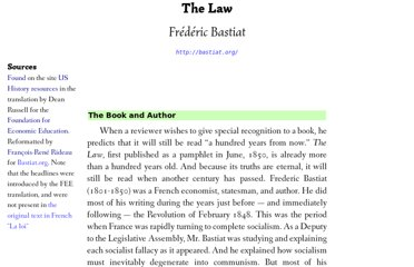 http://bastiat.org/en/the_law.html