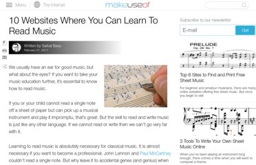 http://www.makeuseof.com/tag/10-online-resources-learn-read-music/