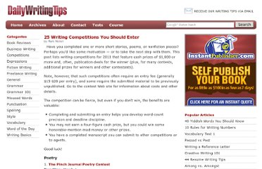 http://www.dailywritingtips.com/25-writing-competitions/