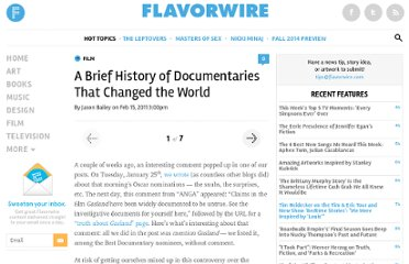 http://flavorwire.com/152216/a-brief-history-of-documentaries-that-changed-the-world