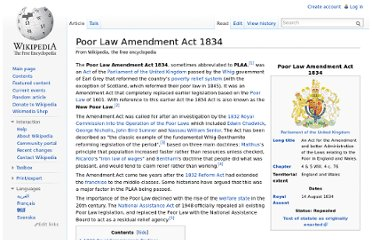 http://en.wikipedia.org/wiki/Poor_Law_Amendment_Act_1834