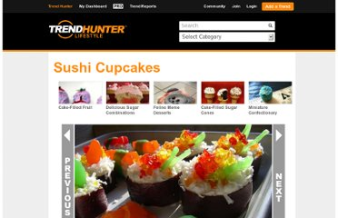 http://www.trendhunter.com/trends/sushi-cupcakes-fish-friendly-baking