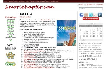 http://www.1morechapter.com/projects/1001-list/