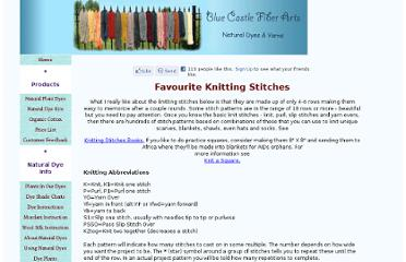 http://www.spin-knit-dye.com/knitting-stitches.html