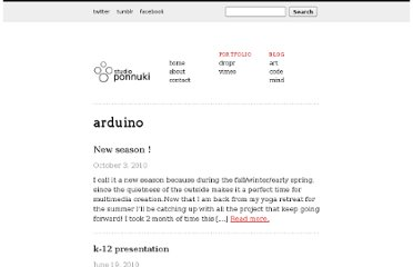 http://www.ponnuki.net/category/arduino/