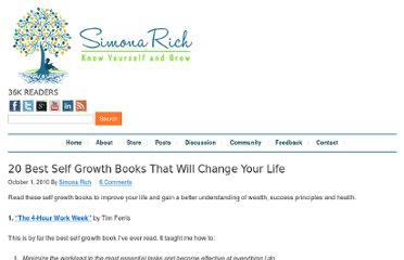 http://www.personal-development-coach.net/self-growth-books.html