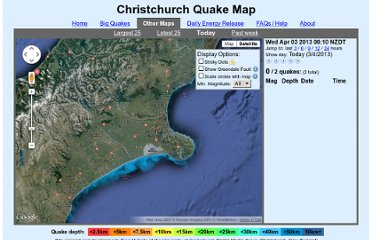 http://www.christchurchquakemap.co.nz/today