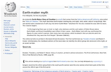 http://en.wikipedia.org/wiki/Earth-maker_myth