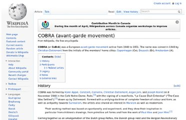 http://en.wikipedia.org/wiki/COBRA_(avant-garde_movement)