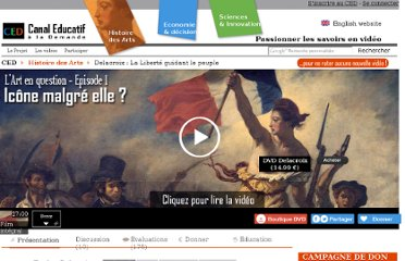 http://www.canal-educatif.fr/videos/art/1/delacroix/la-liberte-guidant-le-peuple.html#