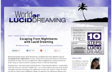 http://www.world-of-lucid-dreaming.com/escaping-from-nightmares.html