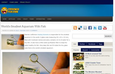 http://www.epidemicfun.com/2011/worlds-smallest-aquarium-with-fish/