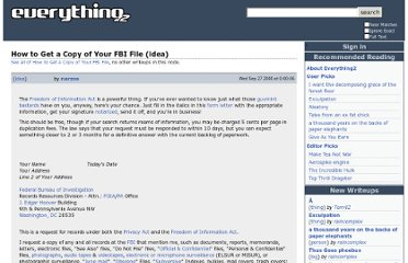 http://everything2.com/user/narzos/writeups/How+to+Get+a+Copy+of+Your+FBI+File