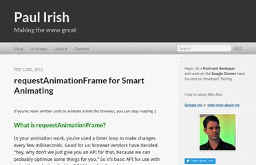 http://paulirish.com/2011/requestanimationframe-for-smart-animating/