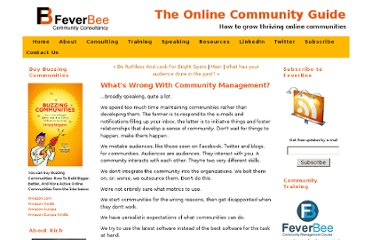 http://www.feverbee.com/2011/02/whats-wrong-with-community-management.html