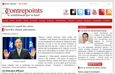 http://www.contrepoints.org/2011/02/21/14476-faire-les-choses-autrement