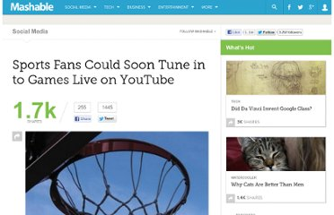 http://mashable.com/2011/02/22/youtube-live-sports/