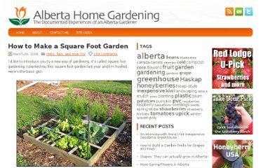http://www.albertahomegardening.com/how-to-make-a-square-foot-garden/