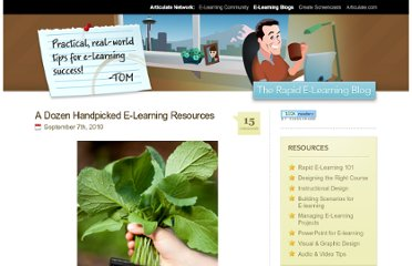 http://www.articulate.com/rapid-elearning/a-dozen-handpicked-e-learning-resources/