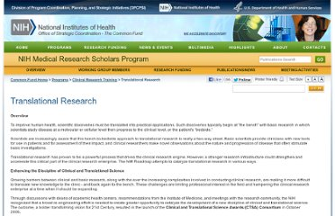 http://commonfund.nih.gov/clinicalresearch/overview-translational.aspx
