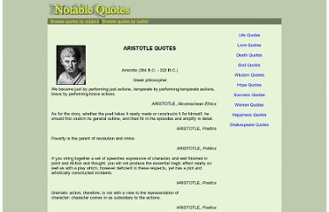 http://www.notable-quotes.com/a/aristotle_quotes.html