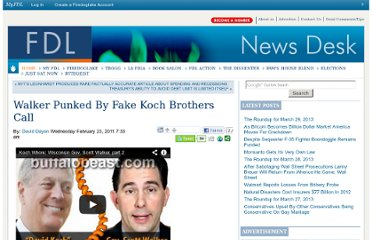http://news.firedoglake.com/2011/02/23/walker-punked-by-fake-koch-brothers-call/