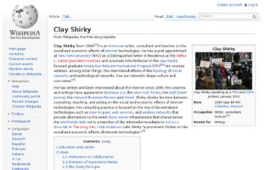 http://en.wikipedia.org/wiki/Clay_Shirky
