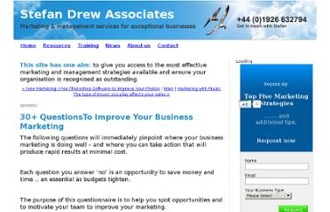 http://www.stefandrew.com/stefan-drew/2011/02/30-questionsto-improve-your-business-marketing.html