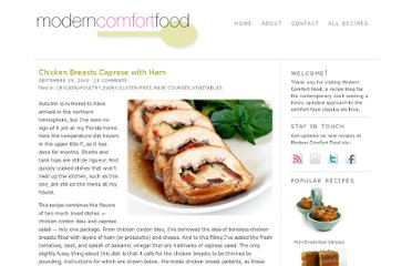 http://moderncomfortfood.com/2010/09/chicken-breasts-caprese-with-ham/