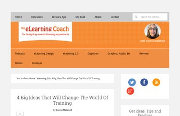 http://theelearningcoach.com/elearning2-0/big-ideas-that-will-change-training/