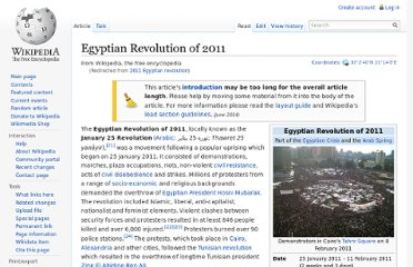 http://en.wikipedia.org/wiki/2011_Egyptian_revolution