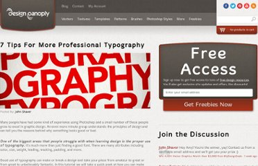 http://www.designpanoply.com/blog/7-tips-for-more-professional-typography