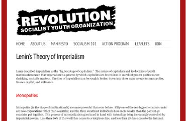 http://www.revousa.org/big-ideas/marxist-thinkers/lenins-theory-of-imperialism
