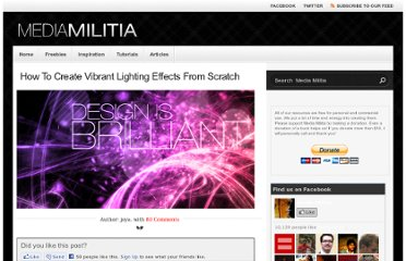 http://mediamilitia.com/how-to-create-vibrant-lighting-effects-from-scratch/