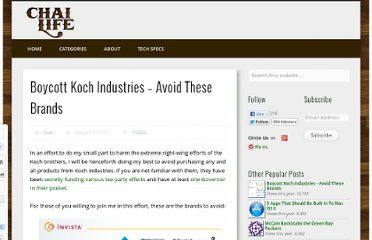 http://www.chailife.com/2011/02/boycott-koch-industries-avoid-these-brands/