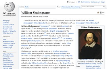 http://en.wikipedia.org/wiki/William_Shakespeare