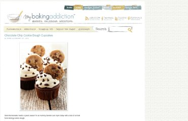 http://www.mybakingaddiction.com/chocolate-chip-cookie-dough-cupcakes/