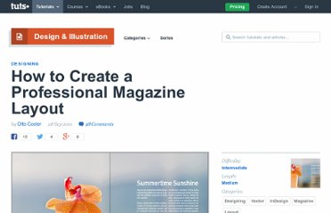 http://vector.tutsplus.com/tutorials/designing/how-to-create-a-professional-magazine-layout/