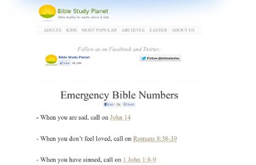 http://biblestudyplanet.com/emergency-bible-numbers/