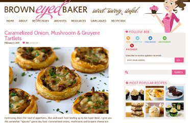 http://www.browneyedbaker.com/2011/02/02/caramelized-onion-mushroom-gruyere-tartlets/