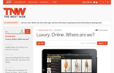 http://thenextweb.com/uk/2010/06/04/luxury-online-where-are-we/