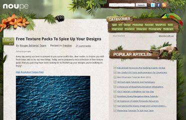 http://www.noupe.com/freebie/free-textures-packs-to-spice-up-your-designs.html