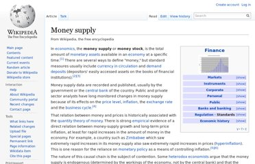 http://en.wikipedia.org/wiki/Money_supply