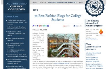 http://www.accreditedonlinecolleges.com/blog/2011/50-best-fashion-blogs-for-college-students/