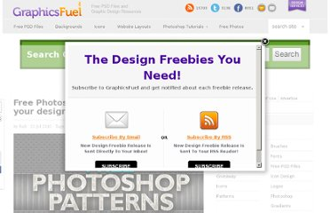http://www.graphicsfuel.com/2010/07/free-photoshop-textures-to-enhance-your-designs/